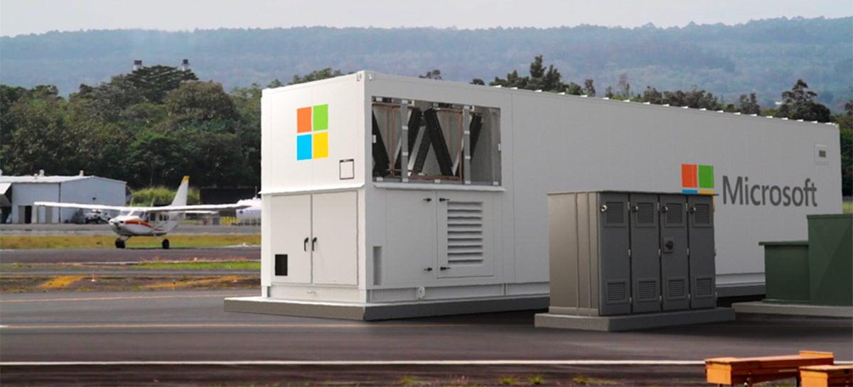 Microsoft anuncia Azure Modular Datacenter (MDC) - um datacenter num contêiner