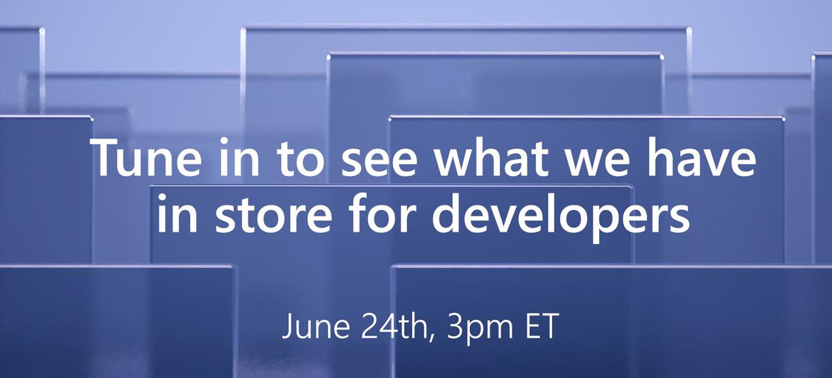 Microsoft realizará evento para desenvolvedores no dia 24 de junho