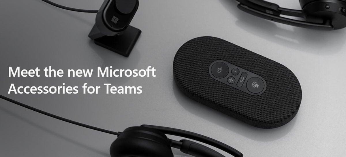 Microsoft anuncia linha Modern de acessórios como headsets e webcam para o PC