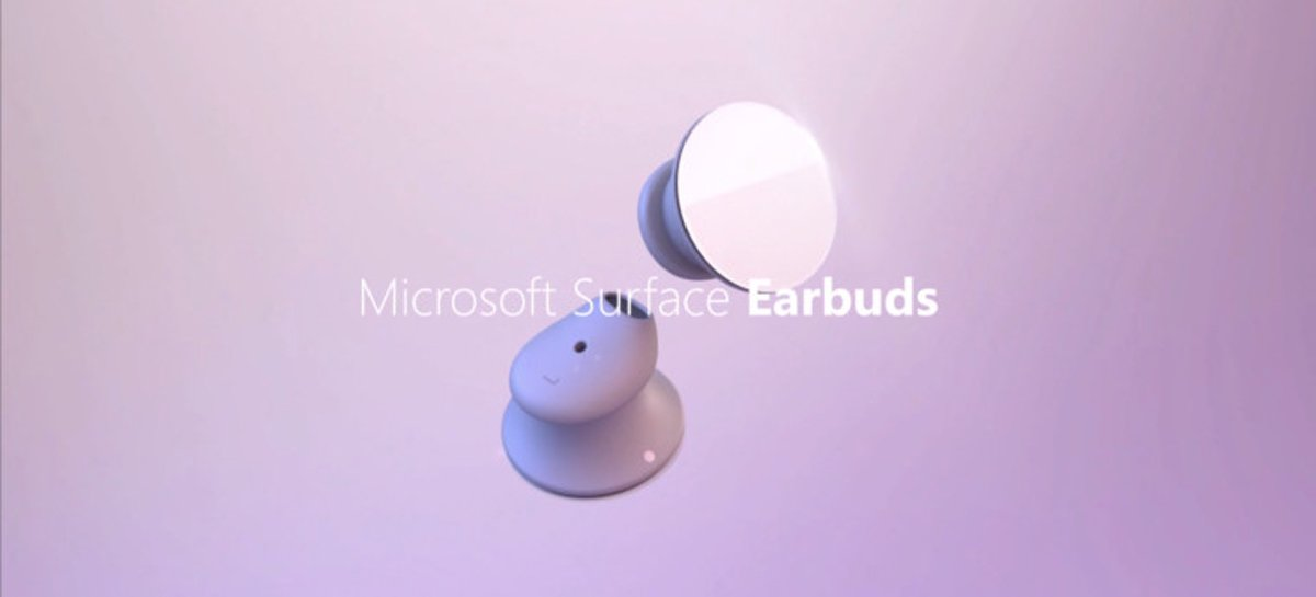 Microsoft Surface Earbuds pode ser lançado no dia 6 de maio