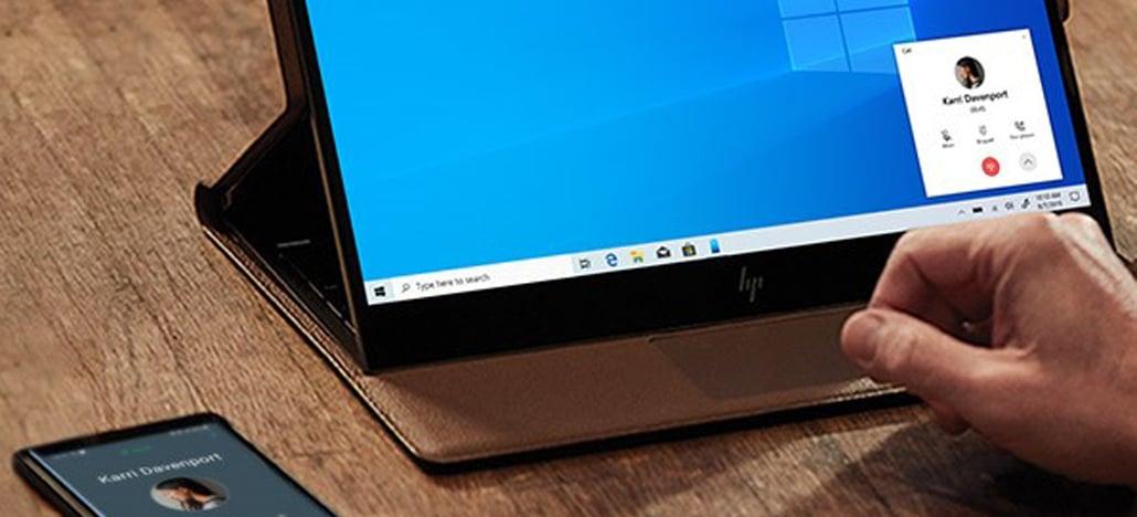 Aplicativo Seu Telefone do Windows 10 agora permite fazer e receber chamadas no PC