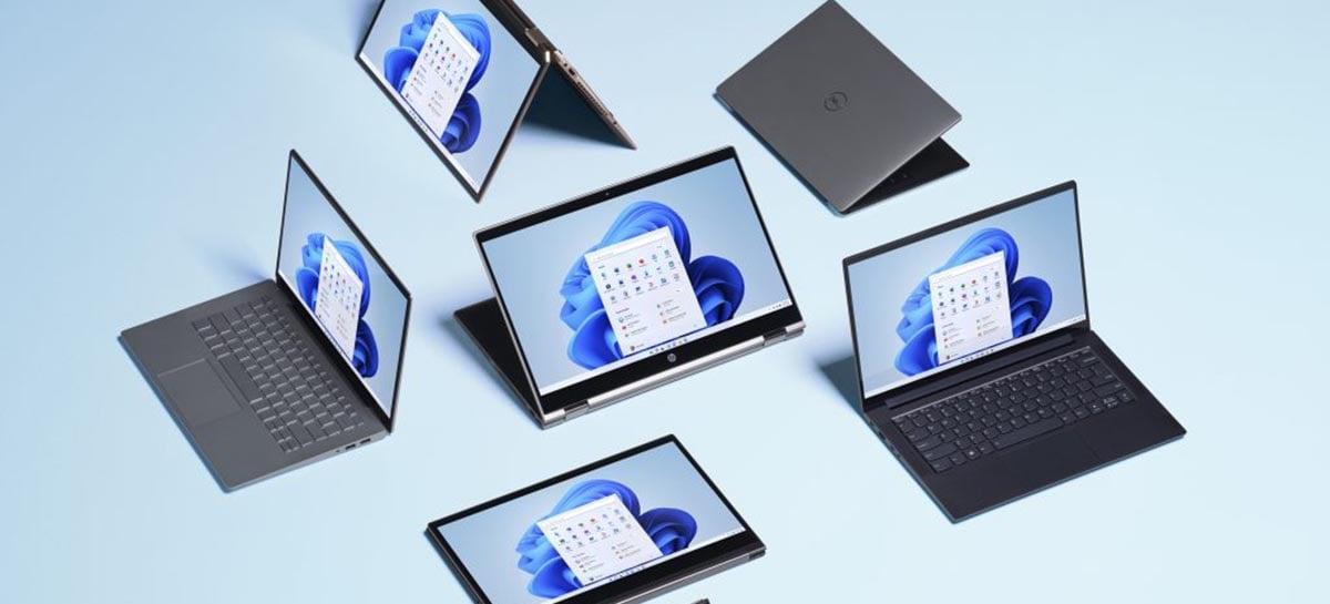 Microsoft determina que notebooks com Windows 11 venham com webcam