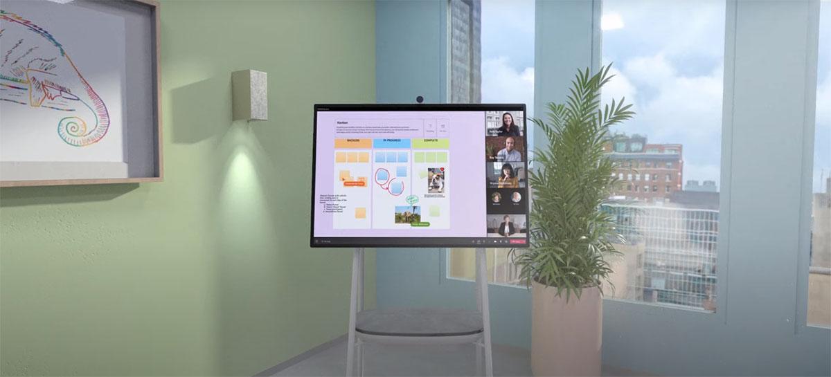 Microsoft atualiza Whiteboard com recursos pensados para trabalho remoto