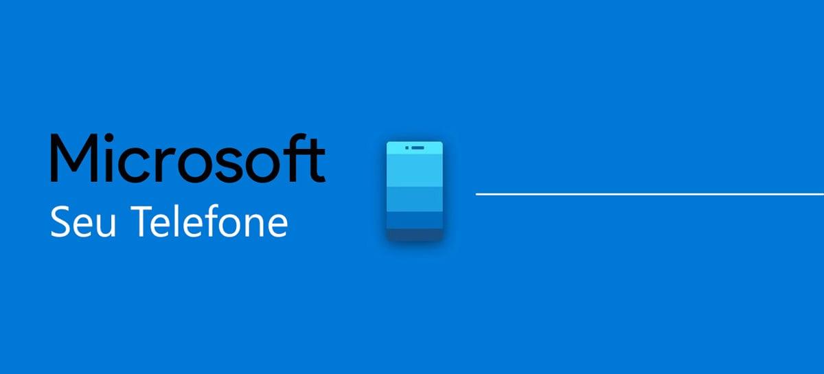 Aplicativo Seu Telefone para Windows 10 agora suporta arrastar e soltar arquivos em celulares Samsung