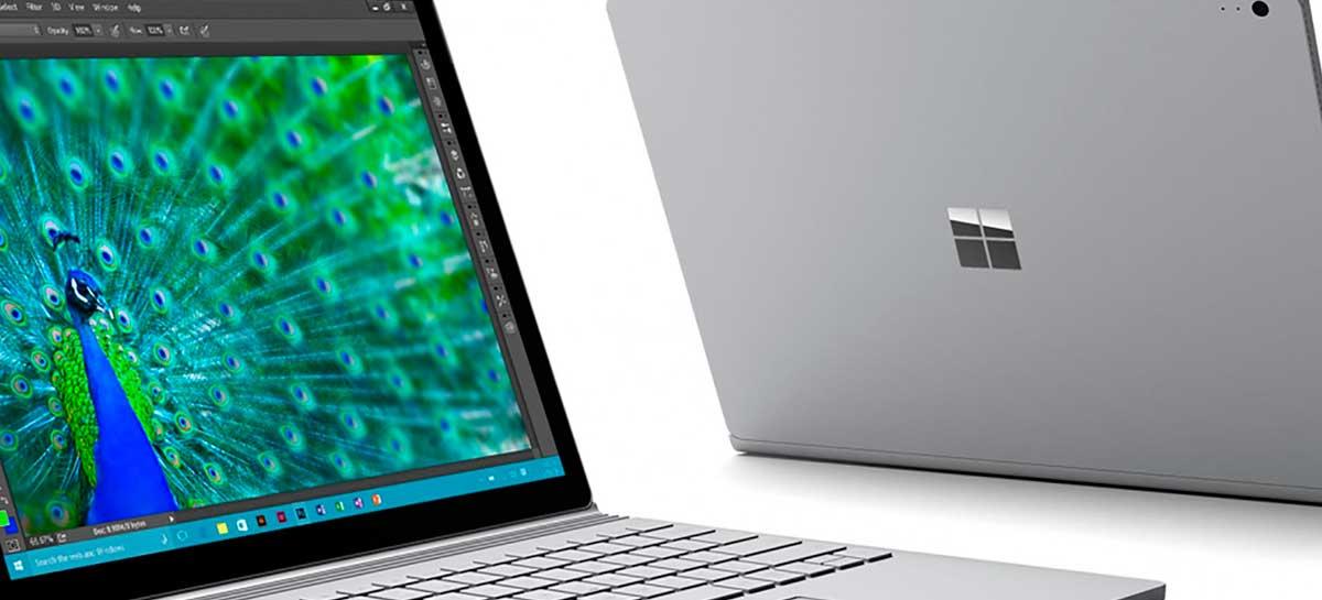 Microsoft Surface Book 3 deve vir com 32GB de RAM, SSD de 1TB e gráficos Nvidia Quadro