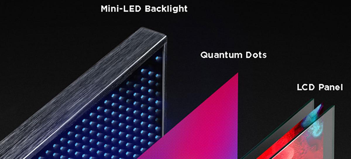 Fabricantes de PCB planejam integrar Mini-LED em notebooks e TVs