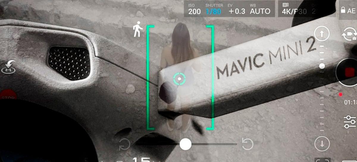É possível recriar o ActiveTrack em alguns modos no drone DJI Mini 2! Veja como!
