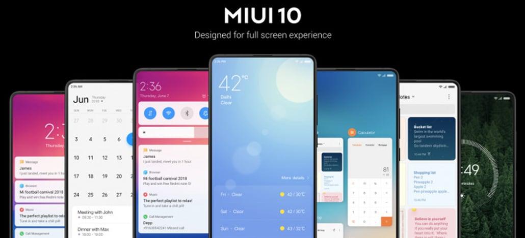 MIUI 10 beta traz modo escuro para dispositivos Xiaomi