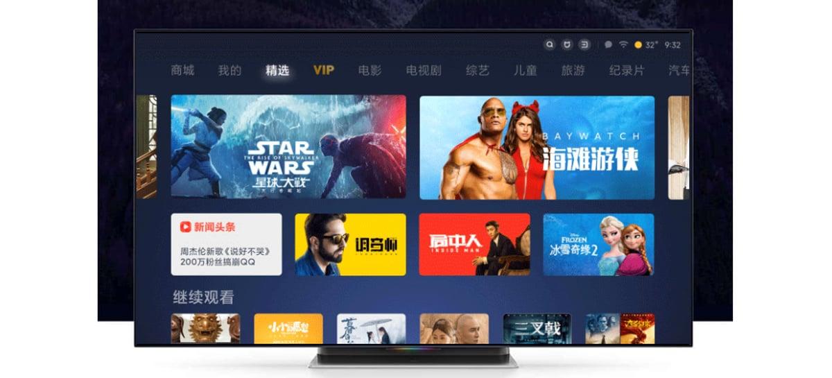 Xiaomi anuncia interface MIUI para TV 3.0 na China