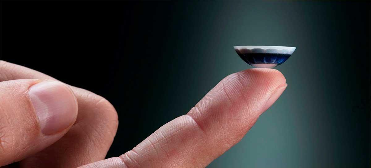 Startup apresenta lente de contato com display embutido para melhorar a visão