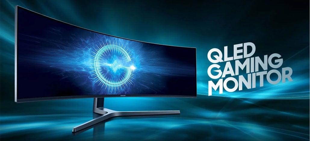 Samsung lança no Brasil o monitor gamer CHG90 QLED de 49'' por R$10.999
