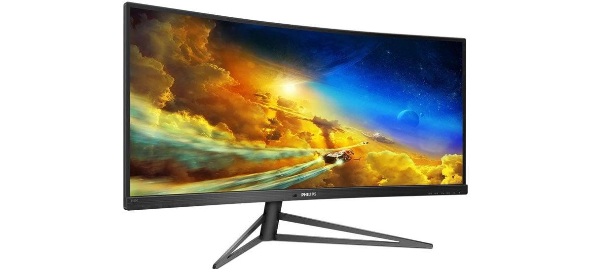 Philips apresenta monitor ultrawide para PS5 e Xbox Series X