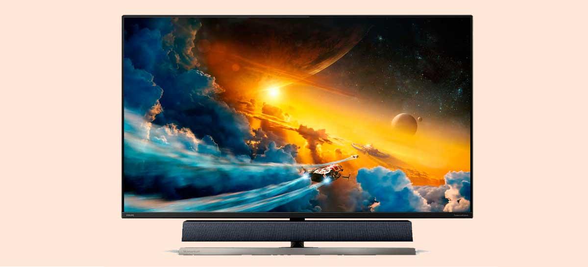 Philips anuncia monitor gamer 558M1RY de 55 polegadas para consoles