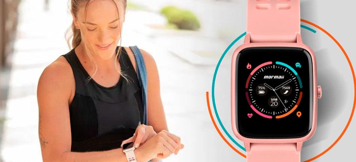 Mormaii lança novo smarwatch Life por R$ 699