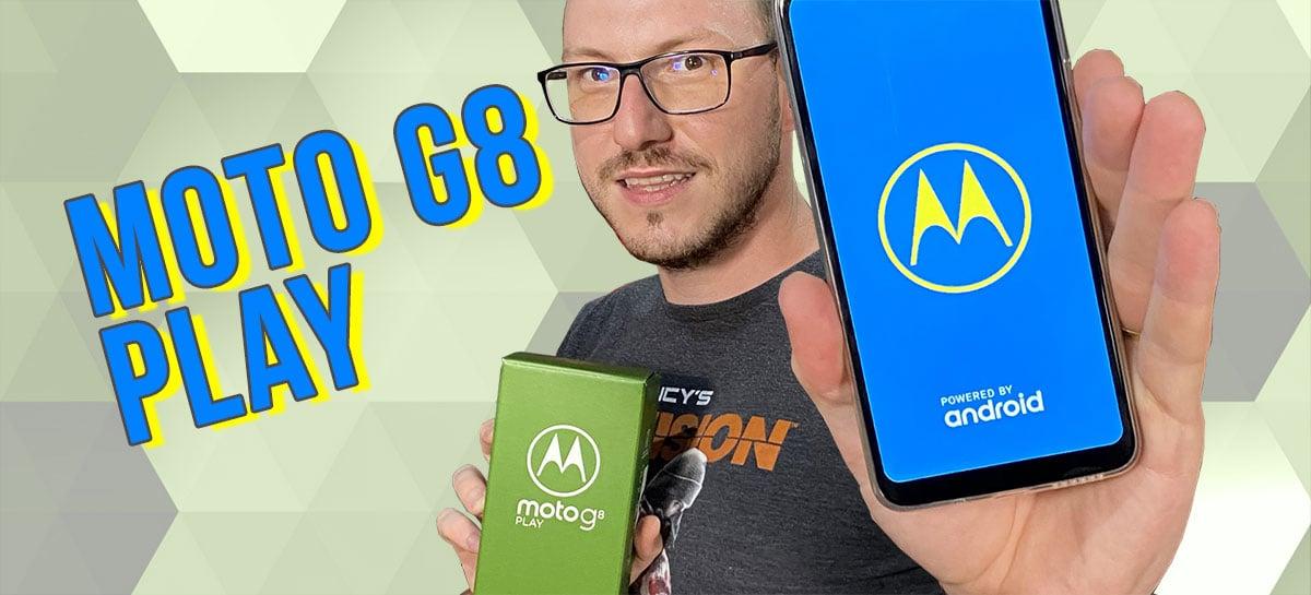 Motorola Moto G8 Play - o Moto G mais baratinho vale a pena?