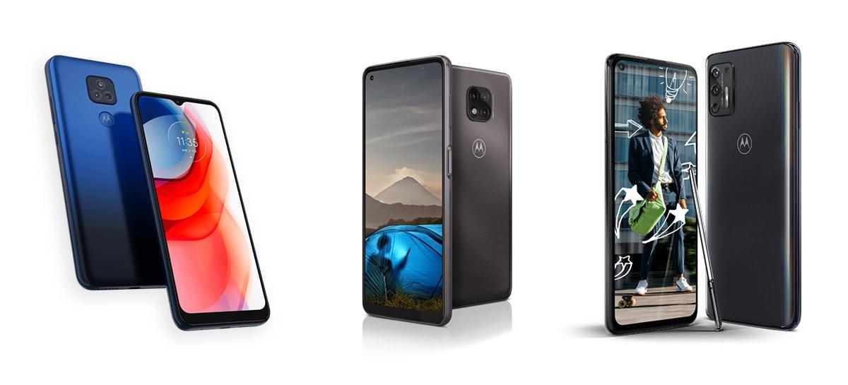 Motorola anuncia versões 2021 do Moto G Stylus, Moto G Power e Moto G Play