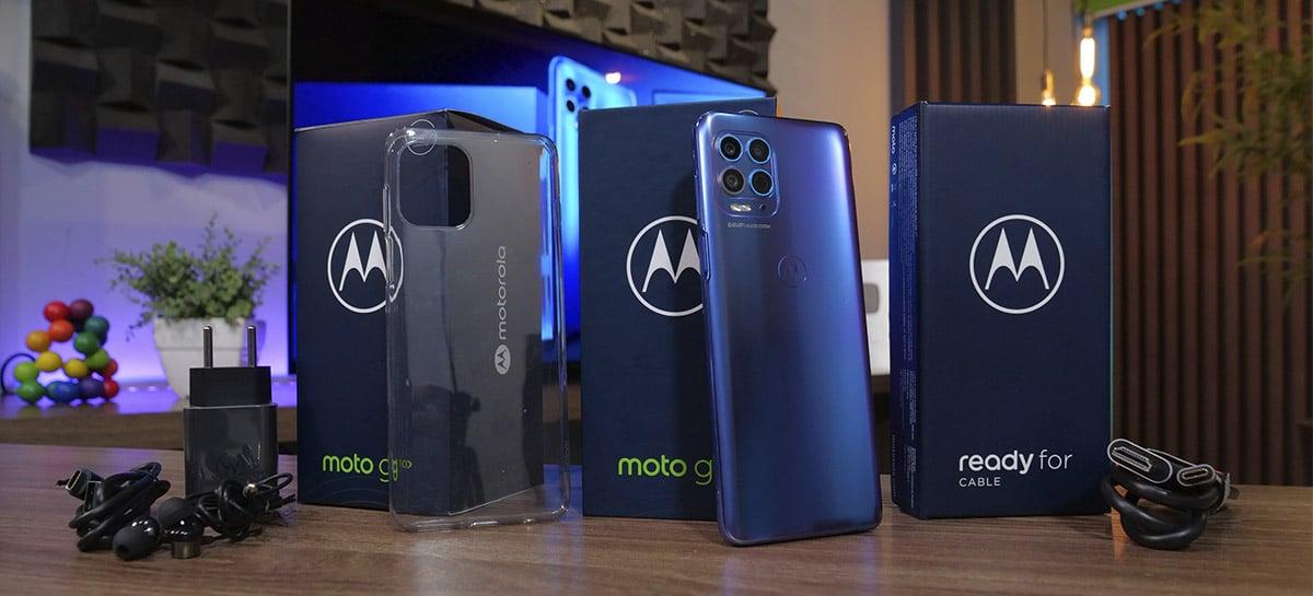 Motorola lança Moto G100 com snapdragon 870, novo recurso Ready For e mais