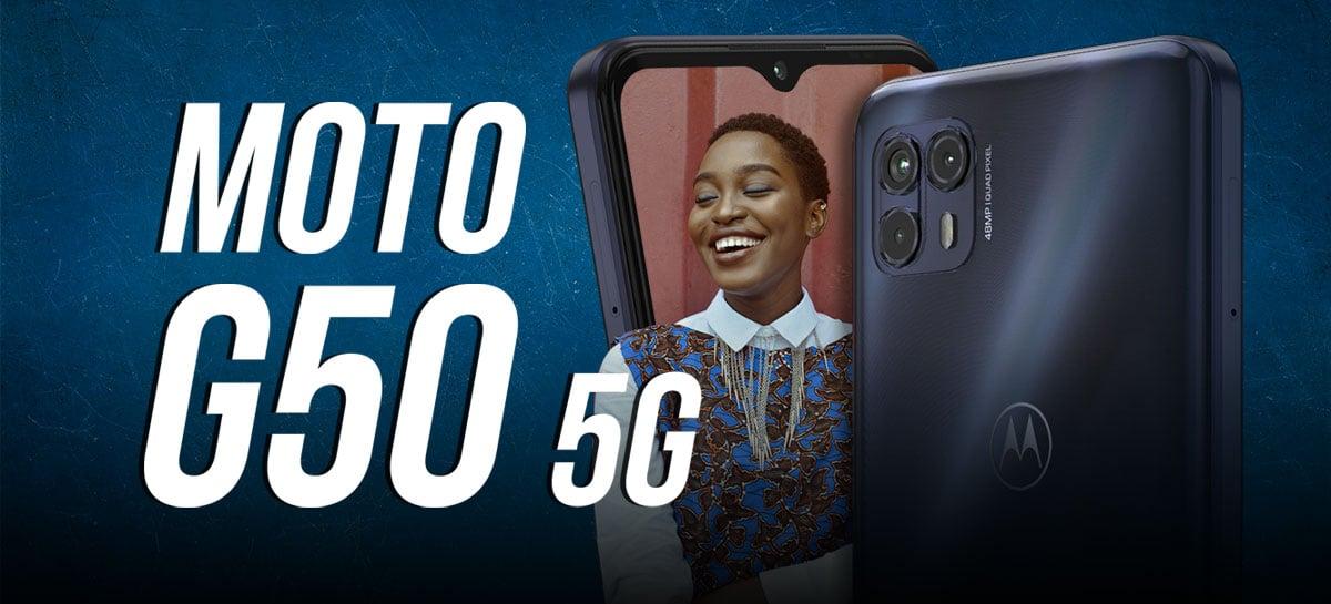 Unboxing e primeiras impressões do Motorola Moto G50 5G