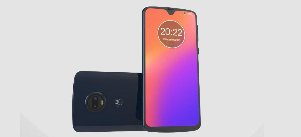 Renderizações mostram o suposto design do Motorola Moto G7 [Rumor]