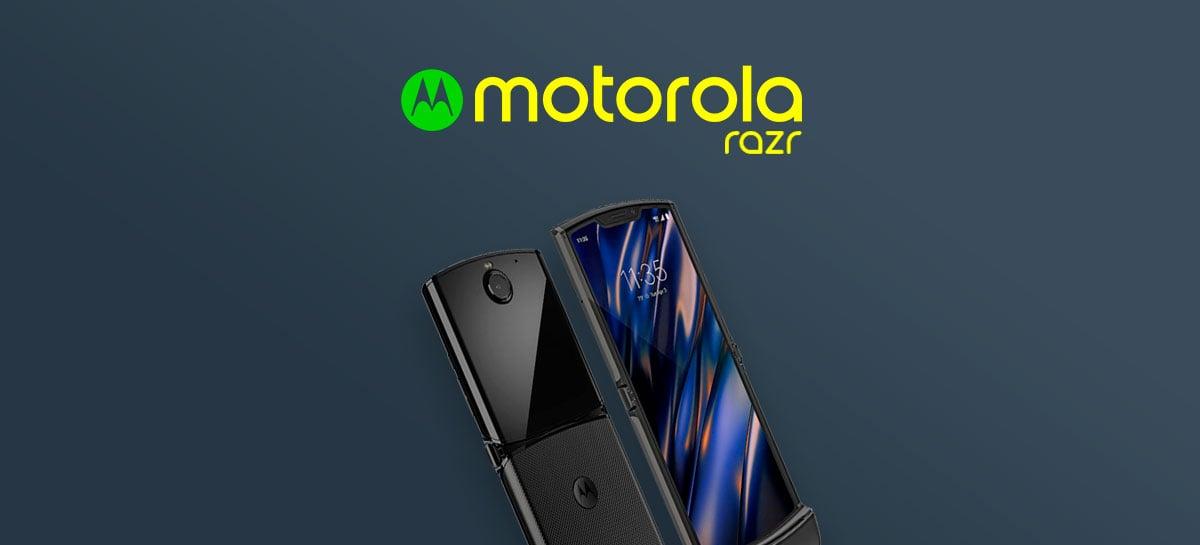 Motorola Razr (2019) chegará ao Brasil no dia 6 de fevereiro, ainda sem preço definido