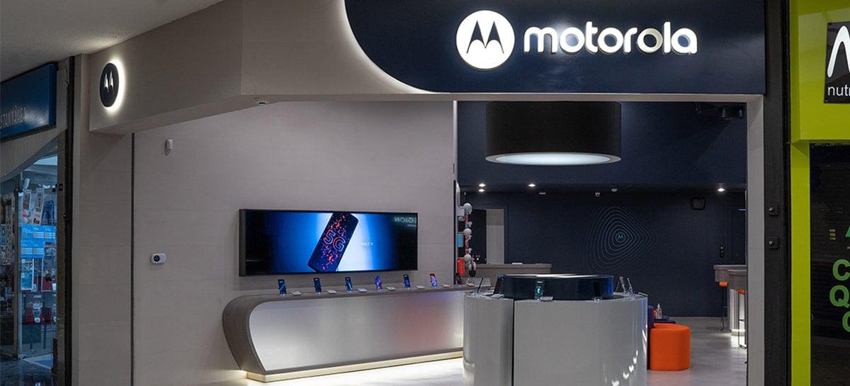 Motorola escolhe o Brasil para inaugurar suas primeiras Moto Stores no mundo