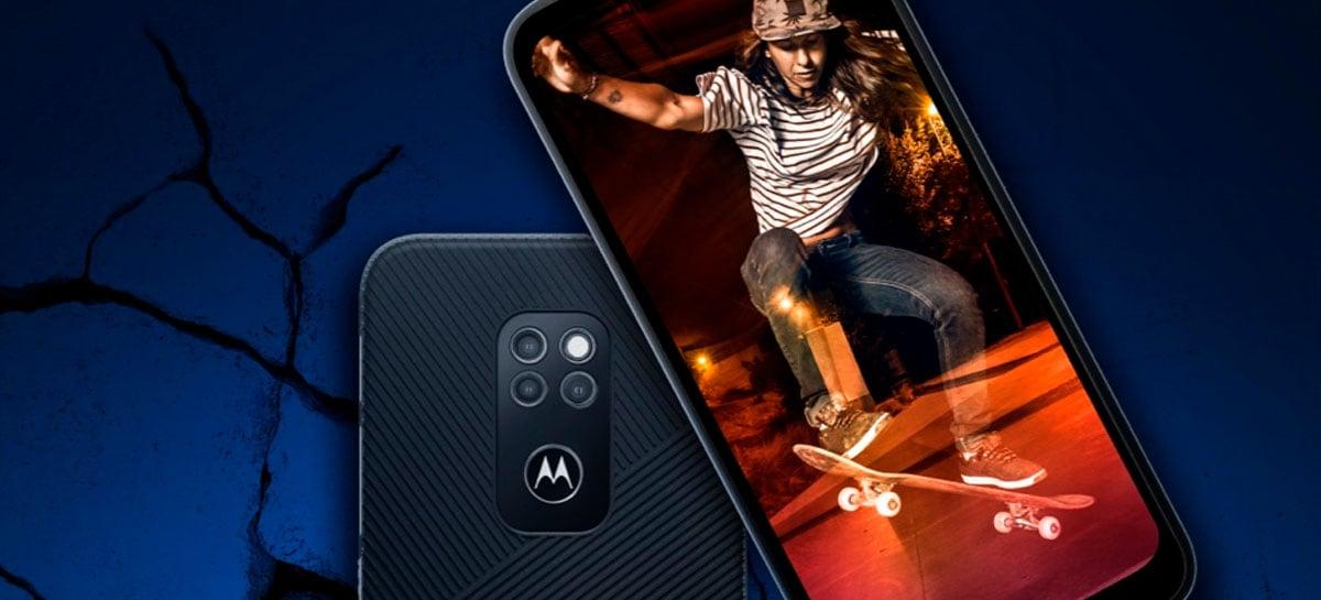 Motorola Defy (2021) chega resistente à água, poeira e quedas de até 1,8m