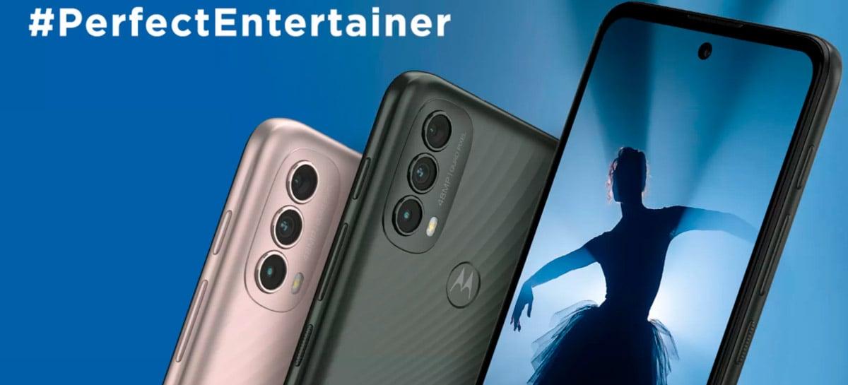 Motorola lança Moto E40: display de 90 Hz e bateria de 5.000 mAh