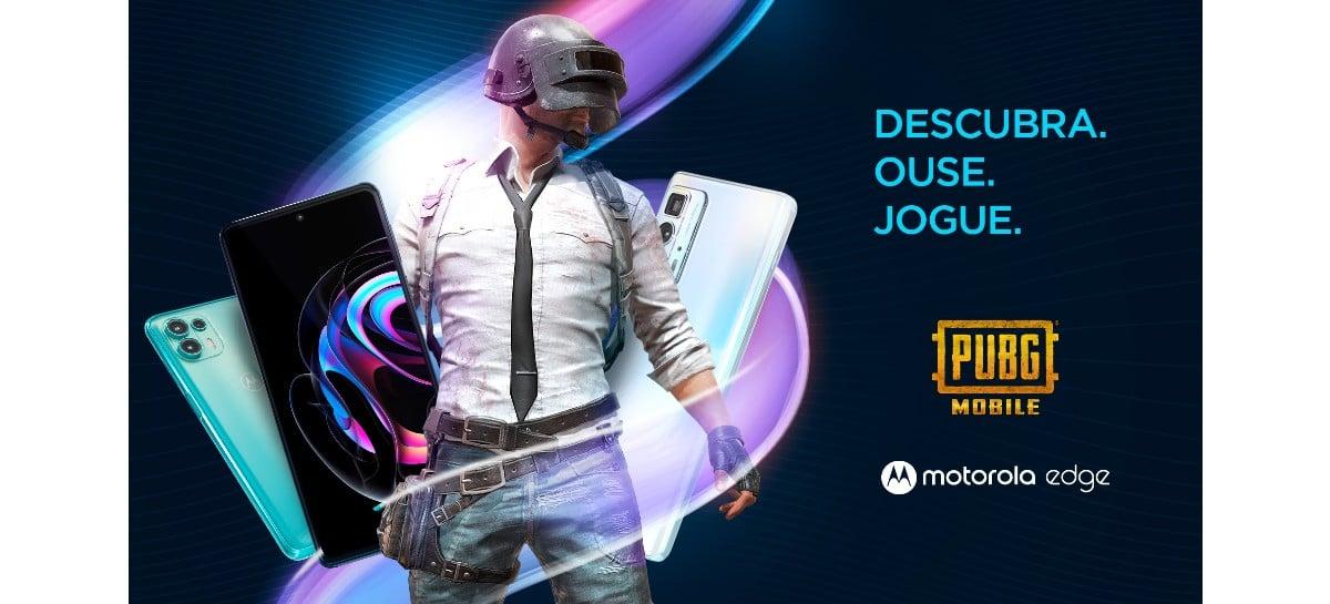 Motorola e PUBG MOBILE fecham parceria para o lançamento do Motorola Edge no Brasil