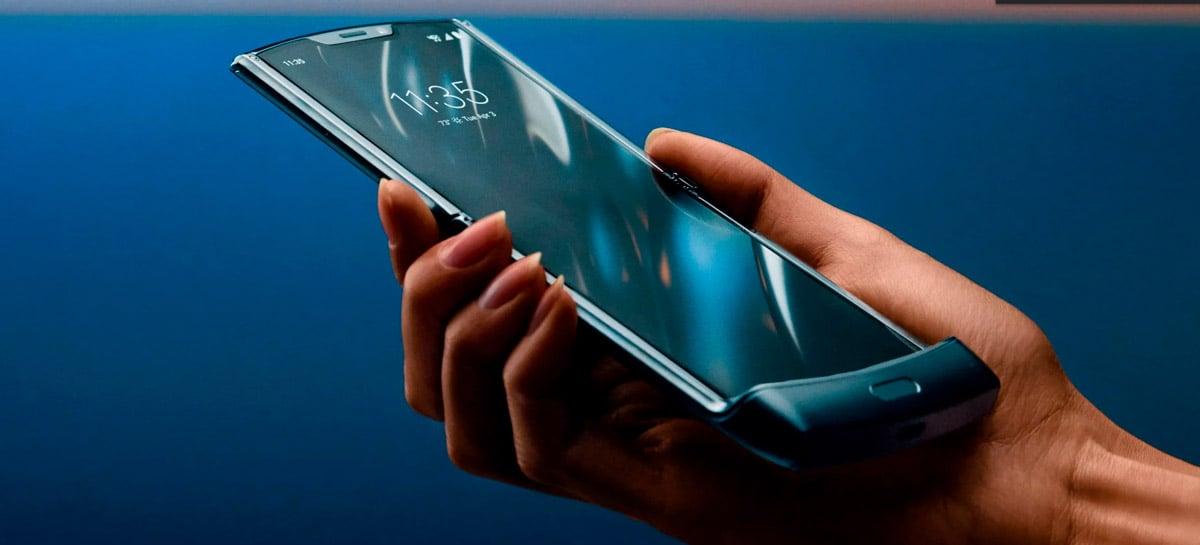 Motorola Razr 2 surge em vazamento com especificações inferiores ao Galaxy Z Flip