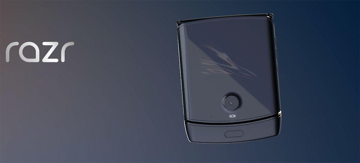 Celular com tela dobrável Motorola razr recebe prêmio Red Dot de design