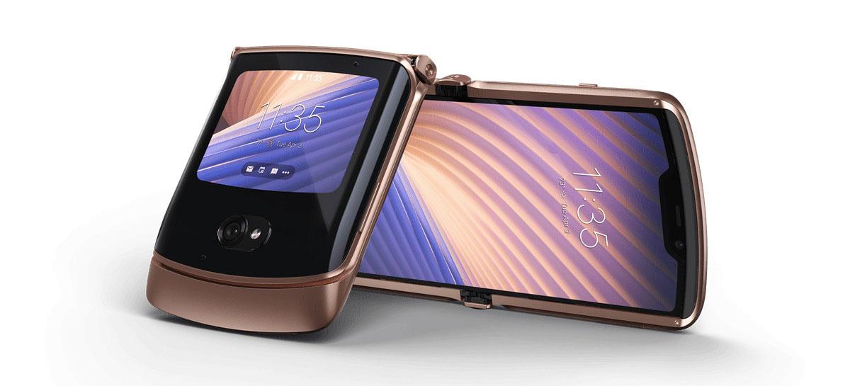Motorola anuncia novo smartphone Razr 5G por US$ 1.399