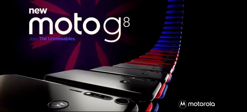 Vídeo promocional do novo Moto G8 vaza e revela o design do smartphone