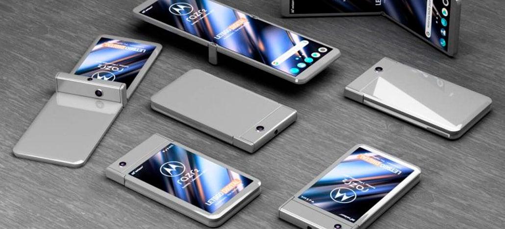 Motorola pode lançar smartphone dobrável com Moto Snaps