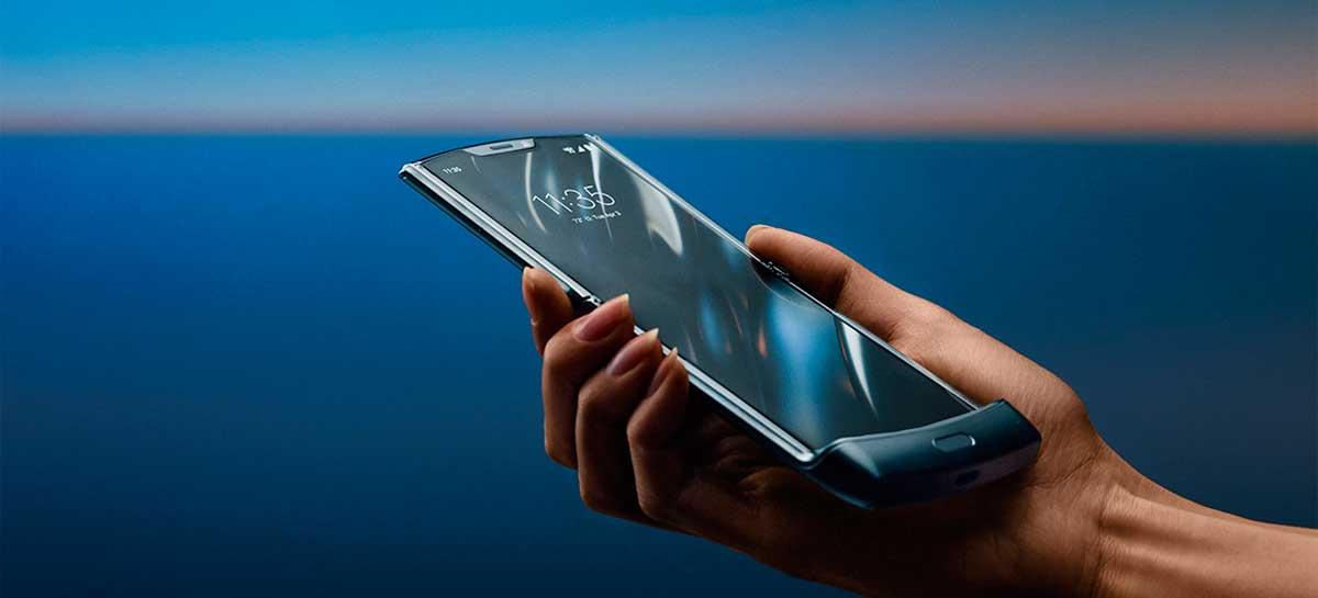 Motorola Razr 5G é certificado com bateria de 2800 mAh e carregamento rápido de 18W
