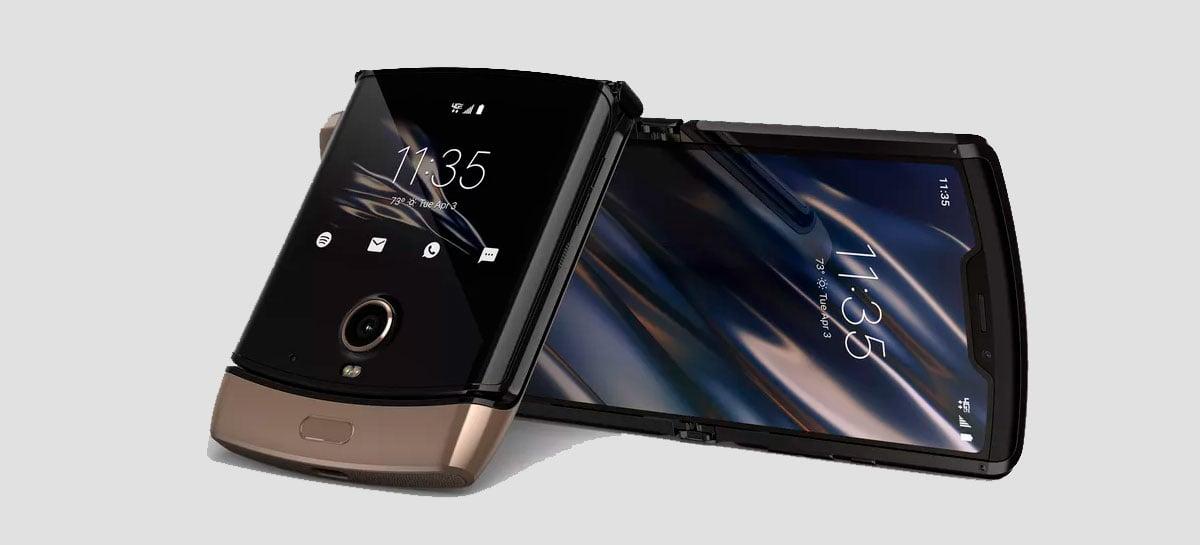 Motorola Razr terá a opção de cor dourada em breve