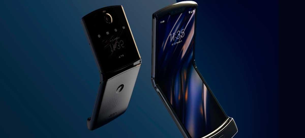Motorola inicia venda do Razr no Brasil por R$8.999