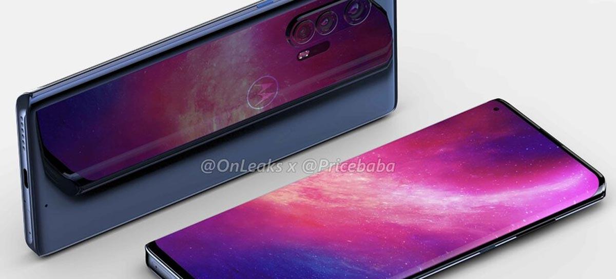 Motorola Edge+ 5G ganha imagens não oficiais de acordo com vazamentos