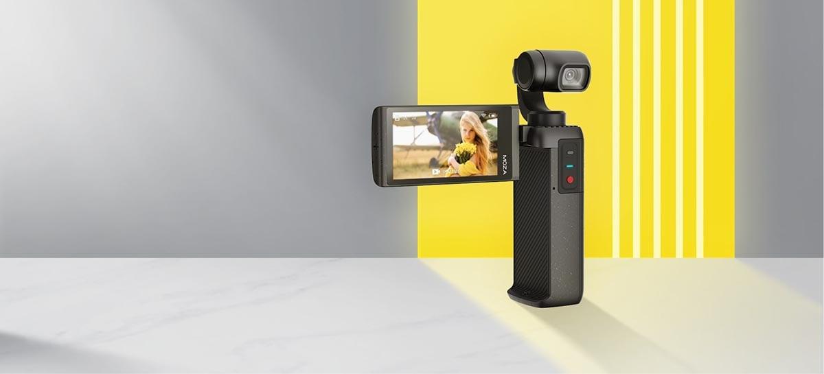 Moza anuncia a MOIN Camera, sua nova câmera de bolso que filma em 4k