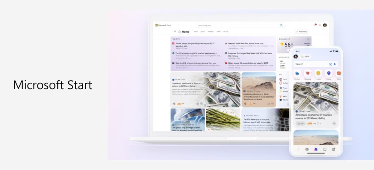 Microsoft Start: conheça o novo feed de notícias com o visual do Windows 11