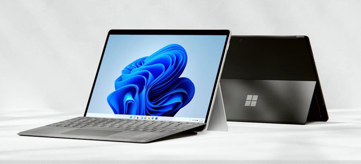 Surface Pro 8 é oficial: tela maior, bordas mais finas, 120Hz e Dolby Vision