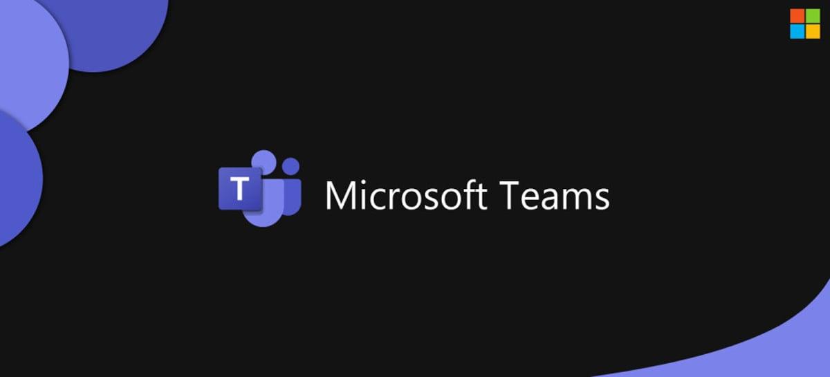 Microsoft Teams suportará 49 pessoas ao mesmo tempo na tela durante chamadas em vídeo