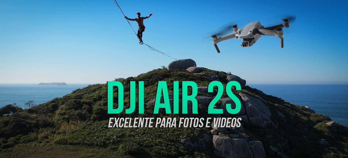 ANÁLISE: Drone DJI Air 2S - Belas imagens, comparativos, uma colisão e conserto!