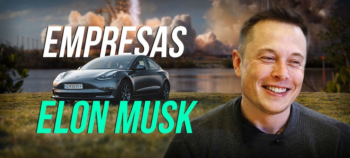Elon Musk: tudo sobre as empresas do dono da Tesla Motors