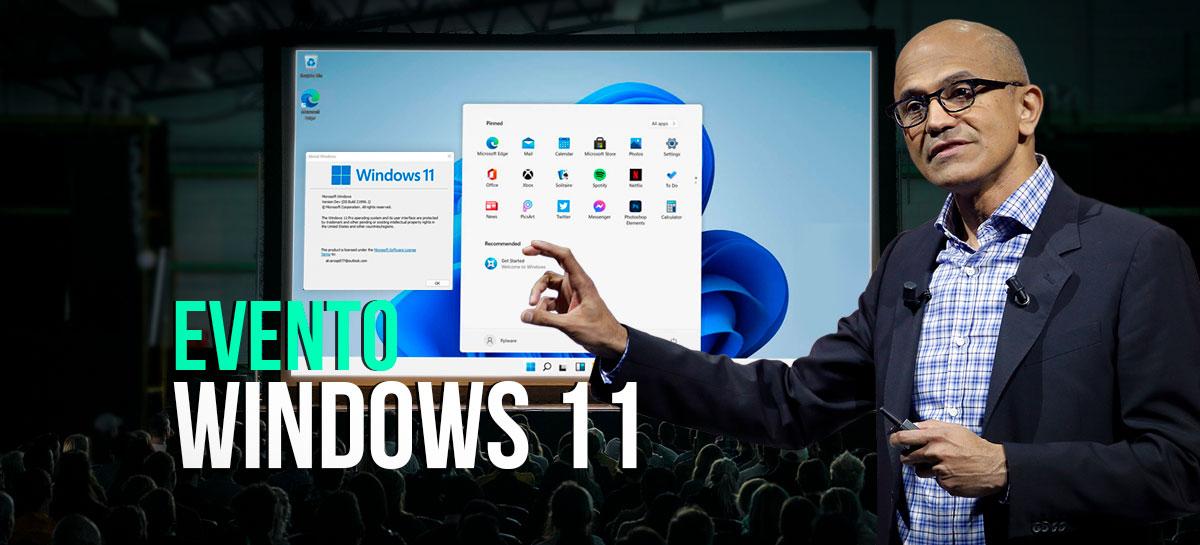 Windows 11 será anunciado hoje! Saiba como e onde assistir ao evento