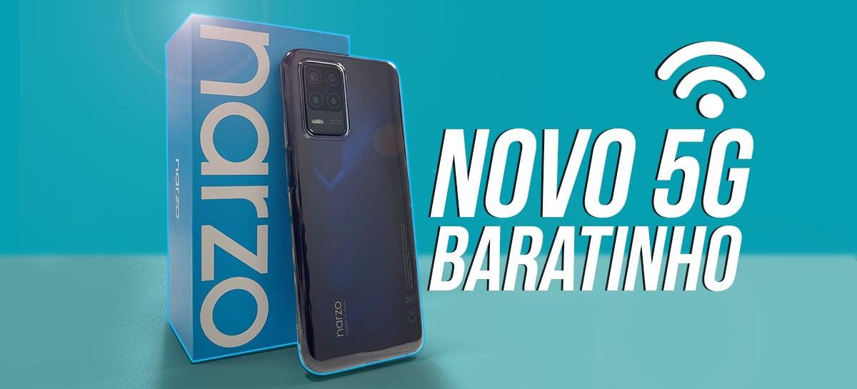 Realme Narzo 30 5G: um dos mais baratos com 5G