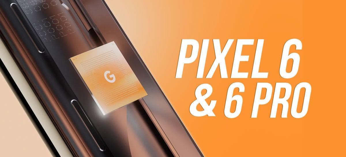Google anuncia Pixel 6 & 6 Pro com seu novo processador Tensor