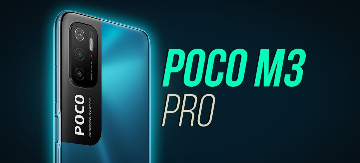 POCO M3 Pro 5G: barato com muito desempenho? Tiramos da caixa o novo celular da Xiaomi!