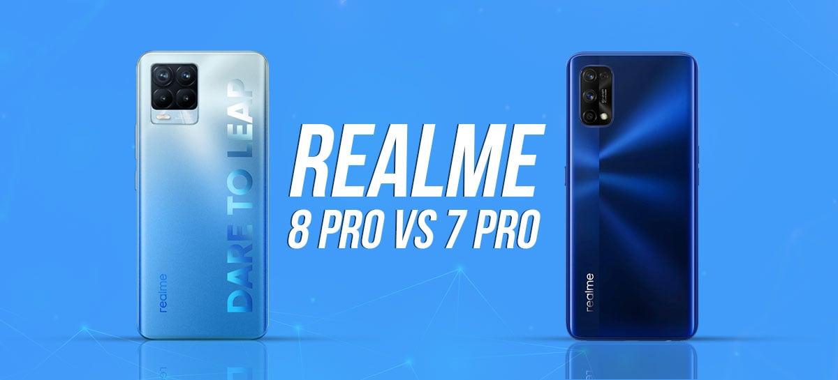 Realme 8 Pro x Realme 7 Pro: qual smartphone vale mais a pena? [COMPARATIVO]
