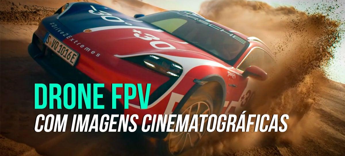 Vídeo da Porsche filmado com drones FPV é amostra de possibilidades incríveis