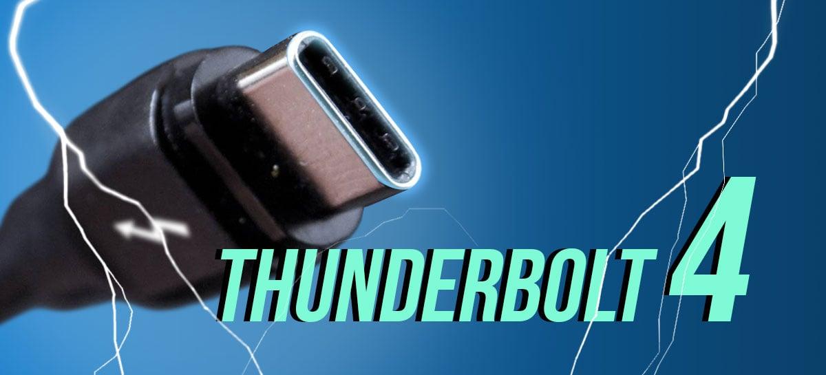 Thunderbolt 4: entenda o que muda e quais as melhorias no padrão